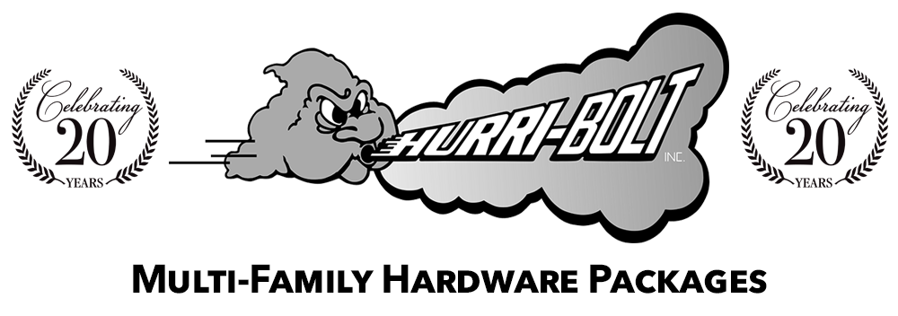 Multi-Family Hardware Packages by Hurri-Bolt Logo